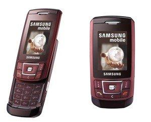 Samsung D900i Red Wine Quadband World GSM Phone (Unlocked)