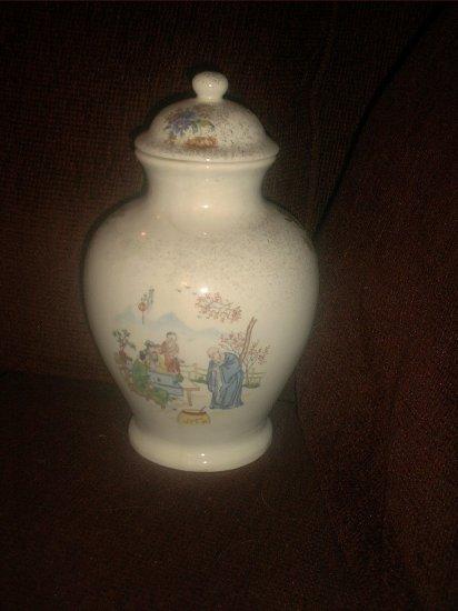 Oriental ceramic vase