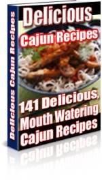 141 Delicious Cajun Recipes eBook