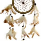 Dreamcatcher Three Feather Strands (4.5 inch diam.)