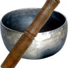 Plain Hammered Singing Bowl with Mallet - Medium - metaphysical