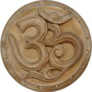 OM Hindu Wall Plaque Gypsum Cement- metaphysical
