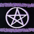 Celtic Pentacle Wall Hanging Tapestry - metaphysical