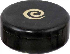 Golden Spiral Round Box - 4 inch - metaphysical