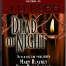 Dead of Night JD Robb Mary Blayney Ruth Ryan Langan Mary McComas Paranormal Romance