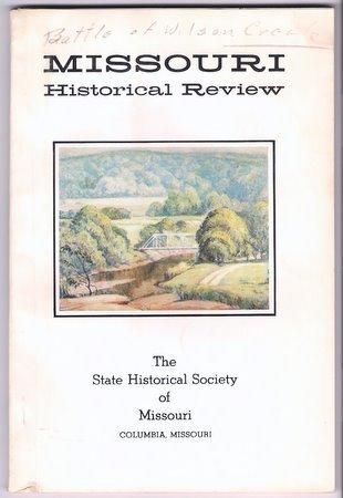 Missouri Historical Review Jan 1977 Battle of Wilson's Creek 4-H Club Work in Missouri
