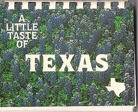 A Little Taste of Texas Cookbook Tex-Mex Recipes Barbara Jones Softcover