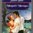 Marigold's Marriages Sandra Heath Regency Romance PB