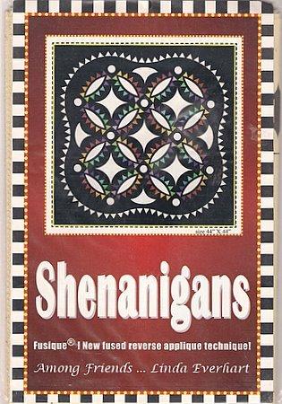 Shenanigans FUSIQUE Quilt Technique Quilted Wall Hanging Fused Reverse Applique