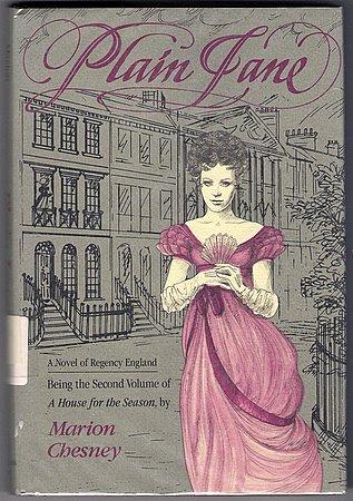 Plain Jane (A House for the Season 2) Marion Chesney Regency Romance Hardcover Book