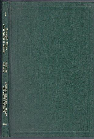 Geomorphic History of the Ozarks of Missouri J Harlen Bretz Ozark Geology