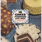 Spry Shortening 10 Cakes Husbands Like Best 50s Vintage Recipe Pamphlet Booklet