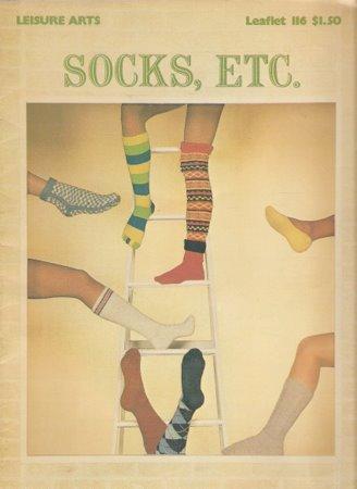 Vintage Socks Leggings Knitting Leaflet Toe Socks Argyles Irish Cable Leg Warmers Boot Toppers