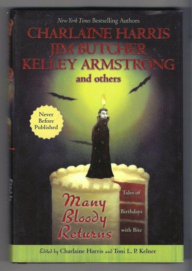 Many Bloody Returns Charlaine Harris Sookie Stackhouse Jim Butcher Harry Dresden Anthology