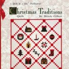 Christmas Traditions Quilt in a Day Wendy Gilbert Quilting Pattern Softcover