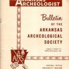 Arkansas Archeologist Archaeologist Bulletin 9 Number 1-2 Spring Summer 1968 Dumond Site