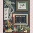 Christmas Cross Stitch Pattern Booklet Chickadees Moose Carolers Angels