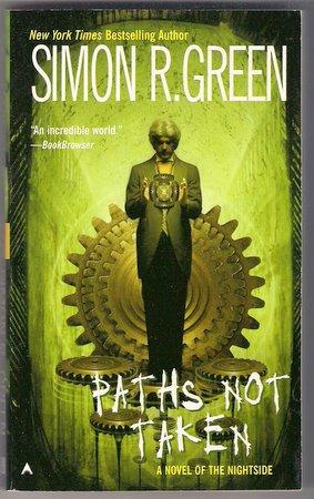 Paths Not Taken PB Simon R Green Nightside Urban Fantasy Noir