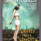 Sharper Than a Serpent's Tooth PB Simon R Green Nightside Urban Fantasy Noir