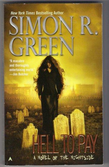 Hell to Pay PB Simon R Green Nightside Urban Fantasy Noir
