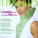 Threads Magazine 114 September 2004 Classic Vest Pattern Sewing Stripes Perfect Pants