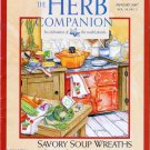 Herb Companion Magazine January 2007 Herbal Remedy Kit Soup Wreaths Holiday Cookies Salad Garden