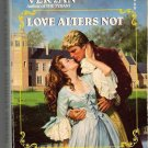 Love Alters Not Patricia Veryan Georgian Romance PB