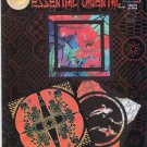 Essential Oriental Cross Stitch Pattern Booklet 3 Designs Koi Fans Poppies