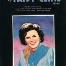 The Best of Patsy Cline Revised Songbook 38 Tunes Piano Vocal Guitar