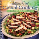 The Pampered Chef Casual Cooking Cookbook Indoor Outdoor Recipes