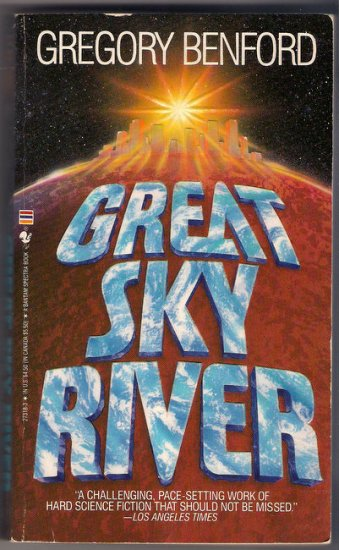 Great Sky River Gregory Benford Science Fiction PB