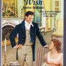 The Candlelight Wish Janice Bennett Zebra Paranormal Regency Romance PB