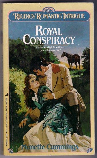 Royal Conspiracy Monette Cummings Pageant Regency Romance PB