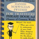 Berlitz Scandinavian Languages for Travelers Danish Norwegian Swedish Phrase Book