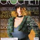 Crochet Magazine March 2007 OOP 40 Fab Designs Felting Amigurumi Frog and Lamb