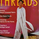 Threads Magazine 92 January 2001 Copying a Vintage Jacket One-Seam Pants Free-Motion Fabric Collage