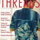 Threads Magazine 101 July 2002 Pattern Grading Monograms Small-Scale Quilting