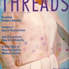 Threads Magazine 95 July 2001 Sew Silk Charmeuse Shadow-Work Embroidery Memory Quilts