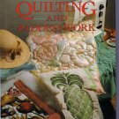 Machine Quilting Padded Work Anne Hulbert Flat Shadow Corded Quilt Design Techniques