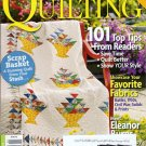 American Patchwork & Quilting April 2010 Eleanor Burns 101 Reader's Tips 8 Quilt Projects