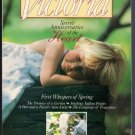 Victoria Magazine March 1990 First Day of Spring Promise of a Garden Hat Making Party