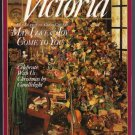 Victoria Magazine December 1993 Mrs. Beeton's Holiday Table Keepsake Ribbons English Christmas