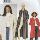 Sewing Pattern Misses Jacket and Coat Knee Length Maxicoat Size 6 8 10 Butterick 6900