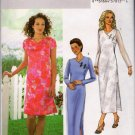 Sewing Pattern Misses Dress Neckline Sleeve Length Options Size 18 20 22 Butterick B4124 Uncut