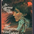The Haunting of Villa Gabriel Clarissa Ross 1971 Vintage Gothic Paperback