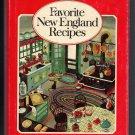 Favorite New England Recipes Cookbook 1973 YANKEE Magazine