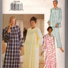 Butterick 3656 Misses Robe Nightgown Top Pants Sleepwear Pajamas Sewing Pattern Uncut XS S M