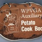 Vintage 70s Wisconsin Potato Cookbook Unusual Shaped Cookbook