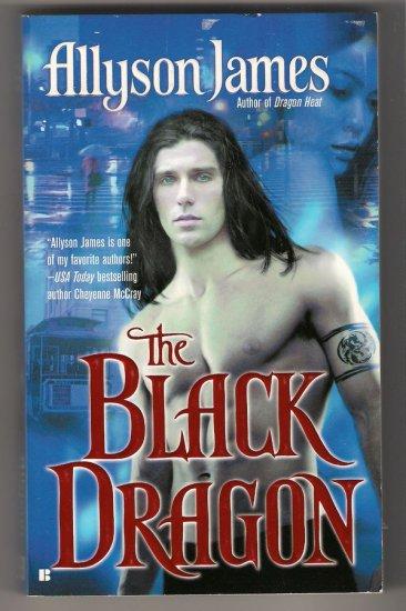 The Black Dragon Allyson James Paranormal Romance