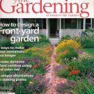 Fine Gardening August 2007 Front Yard Gardens Zinnias Staking Alternatives Container Gardening